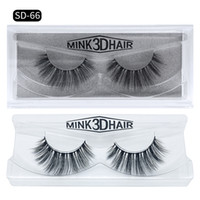 Wholesale Real Hair Accessories - Natural Long 3D Mink Hair Fake Eyelashes Real Tick Mink Hair False Lashes makeup accessories for Eyes 11 styles DHL Free YL003