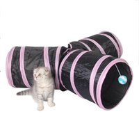 Wholesale tunnel tube for sale - Foldabe Pet Cat Tunnel Indoor Outdoor Pet Cats Training Toys for Cat Kitten Rabbit Animals Play Tunnel Tubes Holes