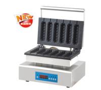 Wholesale Waffle Hot Dog Machine - Electric Type 220v -240v Digital Lolly Hot Dog waffle maker machine