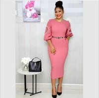ropa tradicional para mujer africana al por mayor-Ropa africana de las mujeres 2019 vestidos promoción superior superior de la moda ropa atractiva