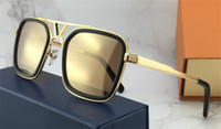 Wholesale latest goggle frame online - The latest selling popular fashion designer sunglasses square plate frame top quality anti UV400 lens with original box