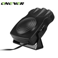 Wholesale heat fan car cooler - Onever 150W 12V Car Heater Demister Defroster Fan Vehicle Auto 2 in 1 Heating Cooling Windscreen Window Defroster Demister