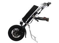 kostenlose klappstühle großhandel-Freies Verschiffen 36 V 250 Watt Elektrische Handcycle Falten Rollstuhl Befestigung Hand Zyklus Fahrrad DIY Rollstuhl konvertierung Kits