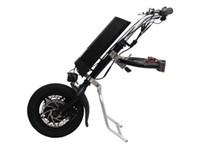 vélo électrique bricolage achat en gros de-Livraison Gratuite 36 V 250 W Électrique Handbike Pliant En Fauteuil Roulant Attachement À La Main Cycle Vélo DIY Fauteuil Roulant Conversion Kits