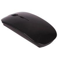 preços de mouse óptico venda por atacado-Preço barato Ultra Fino USB Mouse Óptico Sem Fio Receptor 2.4G Super Slim Mouse Para Computador hot item