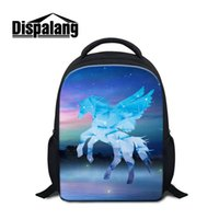Wholesale horse school bags - Dispalang Unicorn Cartoon Small School Bags Horse light Weight Kindergarten Mini Backpack Child Baby Casual Shoulder Bag