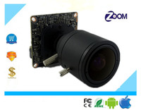 Wholesale Ip Board Camera - Luckertech IP Network Camera 3516C+F22 Module Board 1080P 2.0mp 1920*1080 25Fps Manual Zoom 2.8-12mm with IRC CCTV Security