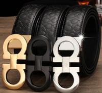 ingrosso cinghie per il commercio all'ingrosso-cinture di lusso cinture di design per gli uomini Cintura di marca fibbia maschile cinture di castità top moda mens cintura in pelle all'ingrosso Trasporto di goccia