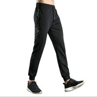 черные молнии оптовых-2018 New Leisure Sport Trouser Men Black Zipper Running Pants Mens Sportswear Outdoor Training Jogging Pnats Men's Leggings