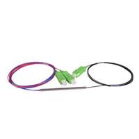 divisor de fibra óptica venda por atacado-SCAPC 1X2 PLC Singlemode Splitter de Fibra Óptica FTTH PLC tubo de Aço tipo SCAPC1x2 divisor de fibra óptica FBT Casal