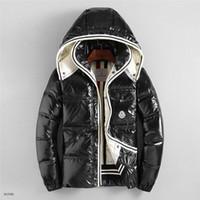 açık hava spor katları toptan satış-Erkek Tasarımcı Ceket Sonbahar Kış Ceket Rüzgarlık Marka Ceket Fermuar Yeni Moda Ceket Açık Spor Ceketler Artı Boyutu erkek Giyim