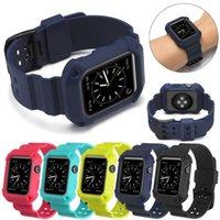 robuste uhr großhandel-Robustes, weiches TPU-Gehäuse mit Vollschutz und Handschlaufe für Apple Watch Bands Serie 3 2 1 iwatch 38 mm / 42 mm