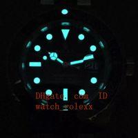 Wholesale 316l s steel - Mens High Quality Luxury noob factory 316L black ceramics Dial s Automatic Eta 3135 Ceramic Bezel Waterproof Dive Waterproof Watches