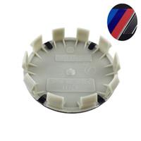 casquillos centrales de rueda bmw 68mm al por mayor-Coche stying 20PCS 68mm 2.67