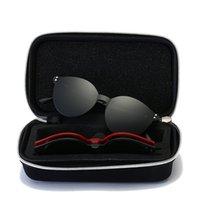 lentes de dioptria venda por atacado-Vazrobe Caso Livre 3 Lente Clipe em Óculos De Sol Das Mulheres Dos Homens de Óculos de Sol Magnético Polarizada Dia Noite de Condução para Dioptria Anti Glare