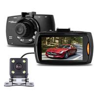 камера ночного видения для вождения автомобиля оптовых-2Ch автомобильный видеорегистратор 1080P auto dash camera Vehicle driving recorder 2.7