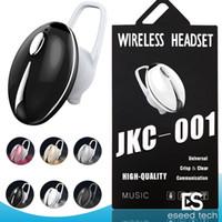 diseño de auriculares iphone al por mayor-JKC-001 MINI Diseño de Escarabajo de Auriculares Bluetooth Inalámbrico Auriculares Únicos Auriculares Deportivos Controladores para Iphone 9 XS Samsung Smartphone