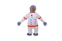astronaut kostüme großhandel-Halloween Kostüm Maskottchen Astronaut Erwachsene Anime Kostüme Kosmonaut Aufblasbare Kostüme Für Frauen Männer Kleidung Leistung prop Benutzerdefinierte backpa