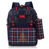 schöne mädchenschultaschen großhandel-Mädchen Rucksack Orthopädische Schultasche BackpacPrimary School Bookbag Schönes Geschenk für Kinder neue Trem