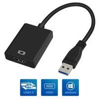 conversor multi cabo venda por atacado-USB 3.0 para HDMI Converter USB3.0 para HDMI Adaptador Gráfico Multi Display Cabo para PC NotProjector HDTV HD 1080 P