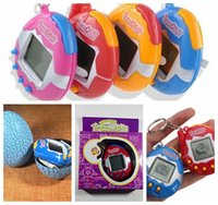 Wholesale Toy Electronic Pets - retail hotsale Retro Game Toys Pets In One Funny Toys Vintage Virtual Pet Cyber Toy Tamagotchi Digital Pet Child Game Kids free shipping
