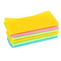 panos de lavar japonês venda por atacado-Nylon Japonês Esfoliante Beleza Pele Banho de Chuveiro Lavagem Pano Toalha de Volta Esfregar Multi Cores 3 Cores