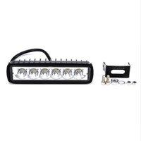 spot suv toptan satış-18 W 12 V LED İş Işık Bar Spot Sel Lamba Sürüş Sis Offroad LED İş Araba Işık lambası Ford Toyota SUV için 4WD led kirişler