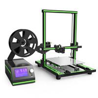 venta de i3 al por mayor-Impresora 3D multilingüe de marco de aluminio Anet E10 Juego de bricolaje Máquina de impresión 3D de creación rápida de prototipos Kit de impresora Prusa i3 3 D en venta