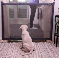 cercas venda por atacado-Magic-Gate Dog Pet Cercas Portátil Dobrável Guarda Segura Indoor e Ao Ar Livre Proteção de Segurança Porta Mágica Para Cães Cercas Pet Cat FFA1191