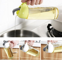 Wholesale oil dispensers - Herb & Spice Tools new 300ml Oil Olive Dispenser Bottle Pot Leakproof Kitchen Healthy Gravy Boat