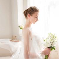 Wholesale drag dresses - JIHAN Design original Wedding dress Korean Sweet Love Shawl Super long 3 meters long lace drag