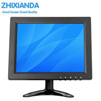 Wholesale Free Lcd Monitors - 2018 the new 9.7-inch 1024*768 desktop game home screen monitors HDMI BNC VGA AV USB interface for free shipping