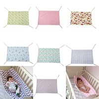 Wholesale bedding for girls for sale - Group buy Baby Floral Unicorn Printed Hammock Newborn Portable Removable for Boys Girls Bed Infant Summer CM Cradles colors Bassinets C4070