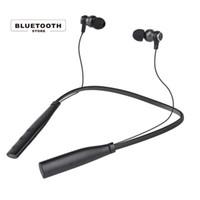 cuffie bluetooth 2018 - Wireless Outdoor Sport Bluetooth Earphone Headset BluetoothV4.2 Calling TF Card FM radio Funtion Hand-nect Design MP3 Auriculares cuffie