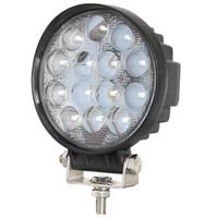 spot suv toptan satış-4 Inç 27 W 42 W 48 W Yuvarlak LED İş Işık Spot Sürüş Için Offorad Kamyonlar Traktör SUV ATV 4WD Tekne Acil Sis Lambası 24 V