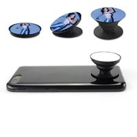 Wholesale personalized ring holder - Universal Mobile Phone gas holder for sublimation DIY personalized customized blank Ring button For iPhone for Sumsung All Handset