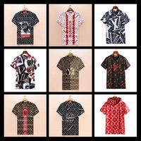 Wholesale harajuku bows - 2018 Men Designer Clothing Floral Tiger Snake Wolf Print Colour Luxury Brand Men's T-Shirts Casual Harajuku Men's Medusa Polos