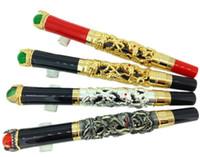 cadeaux commerciaux achat en gros de-Stylo iridium de haute qualité Kim Ho, roi Dragon, perle, stylo cadeau, stylo de signe commercial, calligraphie, calligraphie, stylo à encre
