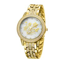Wholesale fashion lady watches china for sale - Group buy BELBI Women Luxury China Wristwatch Quartz Battery Designer Ladies Waterproof Dress Diamond Stainless Steel Gold Silver T T Watches