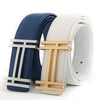 Wholesale wholesale quality leather belts - Casual H Designer Luxury Brand Belts for Mens Genuine Leather Male Women Jeans Vintage Fashion High Quality Strap Waistband