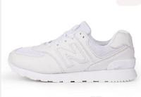 Wholesale Black N Tan - New men 247 casual sports shoes N Mesh Lightweight Flat Sneakers Outdoor Zapatillas Unisex Sports Walking shoes SIZE 36-44
