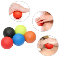3pcs Gym Crossfit Fitness Massage Lacrosse Ball Therapy Trigger Full Body Exercise Sports Yoga Balls Relax Relieve Fatigue Tools