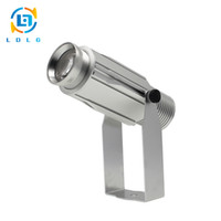 Wholesale gobo projectors led - Wholesale-Popular OUTDOOR Single Static Image 20W LED Gobo Logo Projector Aluminum Alloy Waterproof Customized Logo 1700lm Projector Light