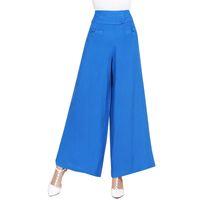 Wholesale full figured clothes online - Plus Size XL Wide Leg Pants Large Size XXL Women Trousers Big Size Female Long Pant Full Figure Office Lady XL Clothes