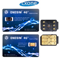 Wholesale x carrier - Original Onesim One sim Unlocking Card for ALL US JP Carrier for iphone 6 7 8 X IOS11.3 with free shipping