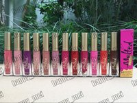 Wholesale melted lipsticks for sale - Factory Direct DHL New Makeup Lips Melted Matte Liquid Lipstick Non Stick Cup Persistent Lipgloss Different Colors