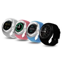 Wholesale y1 smart watch for sale - Y1 smart watch for android smartwatch Samsung cell Phone watches bluetooth for iphone with retail package