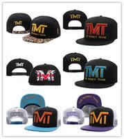 Wholesale money hats - Free Shipping Mixed Cheap Snapback ball The Money Team Sports Basketball Baseball Cap Adjustable Snapbacks Hip Hop Hats For Men Women