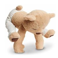 linda muñeca para novia al por mayor-40 cm de yoga oso de peluche de juguete creativo lindo muñecas rellenas suave confort bebé regalo de cumpleaños para niños niños novia Y30