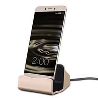 док-станция для док-станции iphone оптовых-Универсальное быстрое зарядное устройство док-станция подставка зарядные устройства колыбель зарядки синхронизации док-станция Тип C для Samsung Edge Примечание 5 с розничной коробке DHL бесплатно